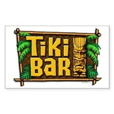 Tiki Bar Decal