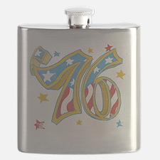 76 USA Flask