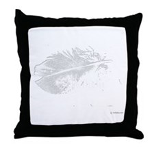 twilight feather shirt by twibaby cop Throw Pillow