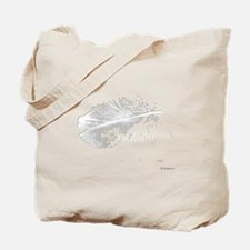 twilight feather shirt by twibaby copy Tote Bag