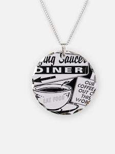 Flying Saucer Diner Necklace