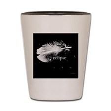 1212 eclipse feather copy Shot Glass