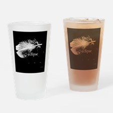 1212 eclipse feather copy Drinking Glass