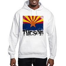 Tucson Grunge Flag Jumper Hoody