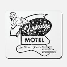 Flamingo Motel Mousepad