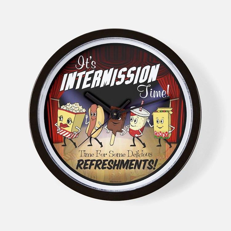 Intermission Time Wall Clock