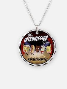Intermission Time Necklace