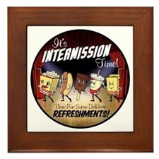 Intermission Time Framed Tile