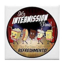 Intermission Time Tile Coaster