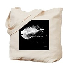 1212 new moon feather copy Tote Bag