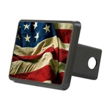 us_flag_04 Hitch Cover