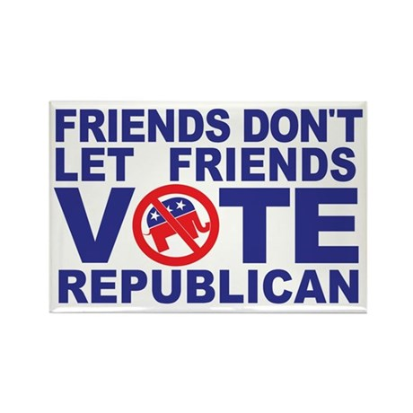 Anti-Republican Magnets - Set of 10