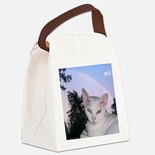 Cat-Calendar-Cover Canvas Lunch Bag