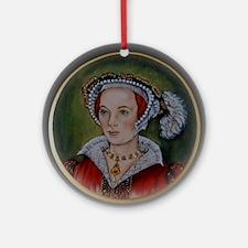 Katherine Parr Round Ornament