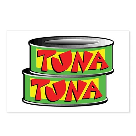 Tuna Postcards (Package of 8)