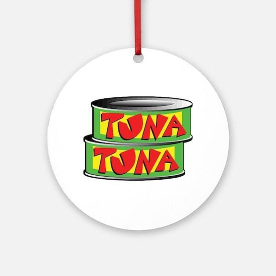 Tuna Ornament (Round)