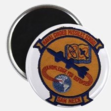 Naval Guided Missiles School Patch Magnet