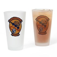 Naval Guided Missiles School Patch Drinking Glass