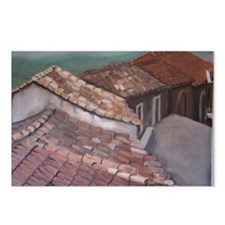 roofs of Monterosso Postcards (Package of 8)