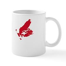 NSmask wide Acadia flag trans Mug