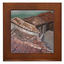 roofs of Monterosso Framed Tile