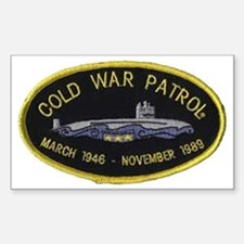 Cold War Patrol Patch Decal