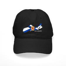 NSmask wide NS flag trans Baseball Hat