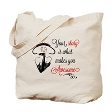 Awesome Woman Tote Bag