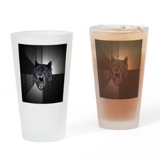 Insanity Wolf Drinking Glass