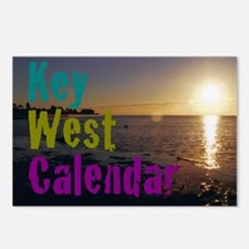 11.5x9at260KeyWestBeach2K Postcards (Package of 8)
