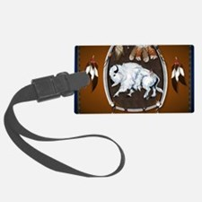 CalenderWhite Buffalo Shield 2br Luggage Tag