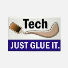 Just Glue It. Rectangle Magnet