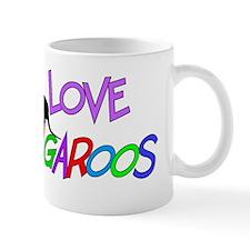I love Kangaroos Mug