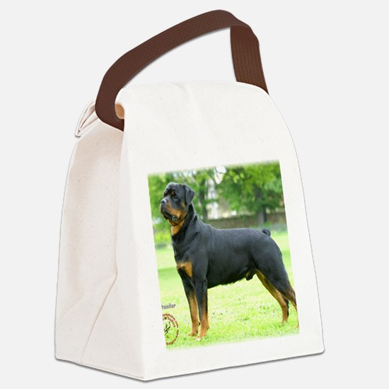 Rottweiler 8T039D-02 Canvas Lunch Bag