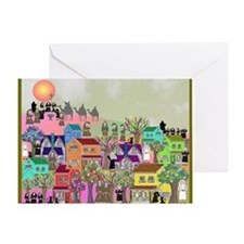 nun puzzle 4 Greeting Card