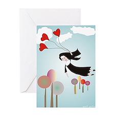 Nun Journal Greeting Card