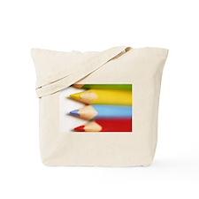 Four Colored Pencils Tote Bag