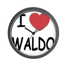 WALDO Wall Clock
