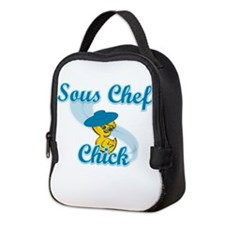 Sous Chef Chick #3 Neoprene Lunch Bag