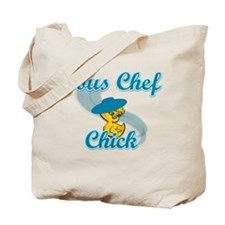 Sous Chef Chick #3 Tote Bag
