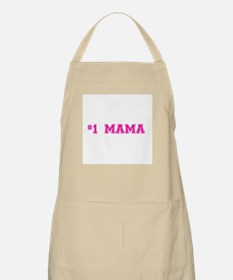 #1 Mama in hot pink Apron