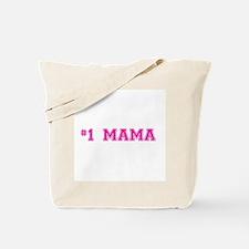 #1 Mama in hot pink Tote Bag