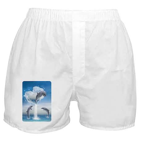 dolphins_aluminium_photo_keychain Boxer Shorts