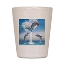 dolphins_ipad_sleev_h_f Shot Glass