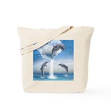 dolphins_ipad_sleev_h_f Tote Bag