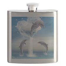 dolphins_ipad_sleev_h_f Flask
