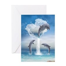 dolphins_nook_sleeve_h_f Greeting Card