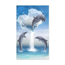 dolphins_iTouch4_Generic_Case Decal