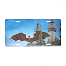 dragon_toiletry_bag Aluminum License Plate