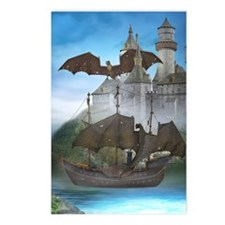 dragon_greeting_card_192_ Postcards (Package of 8)